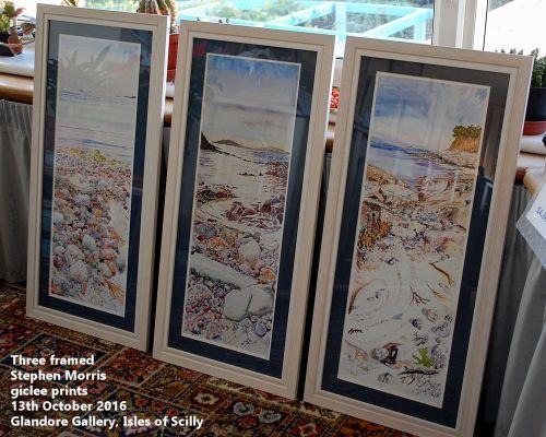 Stephen Morris - 3 giclee prints